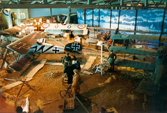 WW1 Display Fleet Air Arm Museum 27-07-92 (Richard.Crockett 64) Tags: ww1 worldwarone thegreatwar display albatrosdva sopwithpup spadxiii sopwithcamel sopwithtriplane rnas royalnavalairservice imperialgermanflyingcorps germanairservice scout fighter fleetairmuseum yeovilton somerset 1992 biplane triplane arméedelair