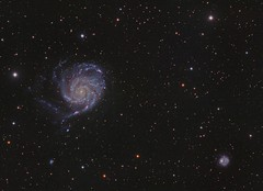 M101 Reprocess (DeepSkyDave) Tags: astrophotography astrofotografie astronomy astronomie night sky nacht himmel stars sterne deepsky cosmos kosmos natur nature long exposure langzeitbelichtung low light astrodon