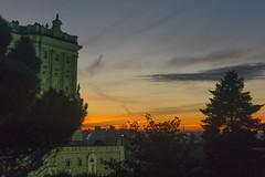 Palacio Real (Luis L.Modrego) Tags: madrid españa puestadesol sunset edificio palacio palacioreal cielo ciudad redrojo