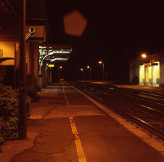 9344.Station (Greg.photographie) Tags: mamiya mamiyaflex 6x6 mediumformat moyenformat colors film analog station fuji reala expired 100