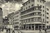 Erfurt (Thüringen / Thuringia): alte und junge Architekitur. (wwwuppertal) Tags: erfurt thüringen thuringia landeshauptstadt mixderarchitekturstile epochen fachwerkhaus halftimberedhouse 20erjahre architekturarchitecture1920s styleswschwarzweisbwblack whitenoir et blancblanc noirmonochromemonochromgetonttonedtonungtoningnikon d90nikon af zoomnikkor 28105mm f3545d if