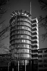 Office Tower (wowafo) Tags: tower hochhaus stuttgart degerloch architektur architecture blackwhite sony alpha 6000