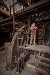 Boiler Room Selfie (Sloss Furnance) (jeff_a_goldberg) Tags: blastfurnace pigiron iron slossfurnaces alabama jeffgoldberg nationalhistoriclandmark redclaytours industrialrevolution birmingham unitedstatesofamerica us