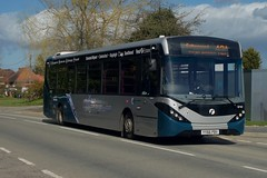 Air 42A: First Essex ADL Enviro200MMC YY66PBV (67167) Parsonage Road Takeley 09/03/19 (TheStanstedTrainspotter) Tags: bus buses public transport publictransport first essex firstchelmsford firstessex firstgroup 42a stanstedairport greatdunmow galleywood chelmsford takeley parsonageroad adl dennis alexander alexanderdennis enviro200 enviro200mmc adlenviro200mmc yy66pbv 67167 x30 branded southend unusual