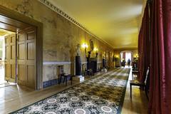 Mottisfont Abbey (Terrycym) Tags: hampshire mottisfont nationaltrust testvalley interior indoors corridor statue carpet