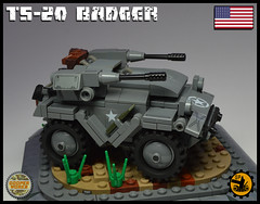 TS_20_BADGER_03 (Cooper Works 70) Tags: lego ww2 wwii custom stickers military cooper works