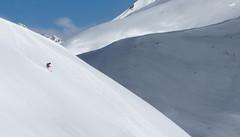 The Adrenaline Junkie (VandenBerge Photography) Tags: winter switzerland schweiz sky snow snowscape mountains alps europe canon adrenalin adrenalinejunkie composition adelboden lenk berneseoberland skiing offpiste season