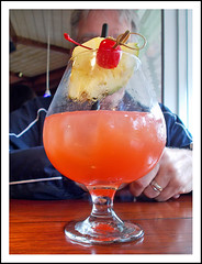 My Brother Wonders if He Can Drink All This (sjb4photos) Tags: ohio beechwoodohio bahama breeze bahamabreeze