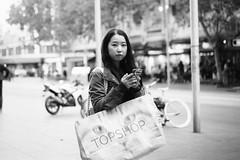 Eyes (McLovin 2.0) Tags: candid street portrait streetphotography eyes urban city melbourne australia monochrome bw sony a7s 55mm zeiss bokeh