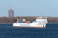 """31.03.2019 Lübeck [DE] Bore """"Seagard"""" (Gunnar Meisner) Tags: 163 seagard schiff transfennica lübeckdummersdorf lübeck trave travemünde deutschland vessel ship schleswigholstein"""