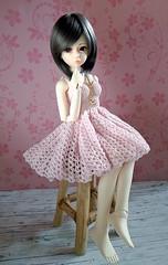 Yoru (Munchi-chan) Tags: bjd msd 14 crochet dress kuts yuz kdf kiddelf