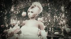 Flower Child (larisalyn (Rachel)) Tags: flowers forest mystical girl blonde vintage secondlife trees