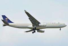HZ-AQ17 Saudi Arabian Airlines Airbus A330-300 (czerwonyr) Tags: hzaq17 saudi arabian airlines airbus a330300 fra eddf