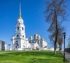 Uspensky Cathedral (Vladimir, Russia) (KonstEv) Tags: church orthodox cathedral vladimir russia architecture building belfry cross bell