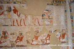 From the tomb of Menna (konde) Tags: tt69 menna sheikhabdelqurna tomb 18thdynasty newkingdom luxor thebes tombpainting hautamaalaus art ancientegypt treasure mythology stele stela