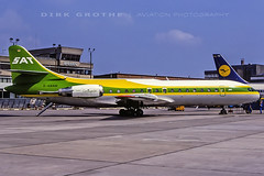 SAT_SE-210_D-ABAW_19850518_BRE (Dirk Grothe | Aviation Photography) Tags: sat se210 caravelle dabaw bre