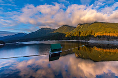 Sunset Magic (mikelan1986) Tags: vancouver northvancouver clouds reflection amazing sunset beautiful britishcolumbia canada travel tourism