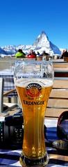 Matterhorn (Romi Corte) Tags: matterhorn cervino swiss zermatt snow beautifulplace beer goodlife holiday