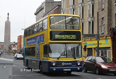 Dublin Bus AX574 (06D30574). (Fred Dean Jnr) Tags: dublinbusyellowbluelivery dublinbusroute120 dublinbus pboro volvo b7tl alexander alx400 transbus ax574 06d30574 parnellstreetdublin november2013 dublin