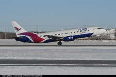 Flair Airlines B734 CFLHE (Sandsman83) Tags: boeing 737 flair air calgary cyyc yyc airplane aircraft plane cflhe