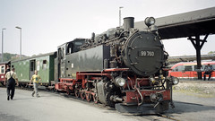 2003-08-13 Steam Locomotive in Zittau (beranekp) Tags: germany deutschland sachsen saxony zittau railway eisenbahn železnice locomotive lokomotiva lokomotive steam dampf station bahnhof