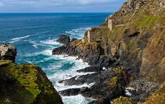Cornwall, Botallack Mine (Uwe Kögler) Tags: coastpath coast cornwall botallackmine mine uk united kingdom unitedkingdom england südwestengland küste felsen greatbritain grosbritannien bergbau historisch