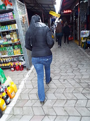 Ahhh the Market.... a cold day in Kostajnica Bosnia (sean and nina) Tags: ice fros cold freeze freezing kostajnica bosna bosnia bih republika srpska serb winter january 2019 border town bosnian municipality nina wife married fiancee girlfriend girl lady woman female beauty beautiful gorgeous stunning charm charming cute brunette black clothes jeans blue brown eyes face pink lips sun glasses sunglasses candid street public outside outdoor people person