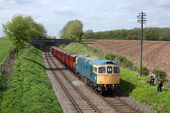 33035 Rabbit Bridge 3/5/18 (Ram 69) Tags: 33035 rabbitbridgegreatcentralrailwaygcr emrps emrpschaterwith33035 class 33 crompton