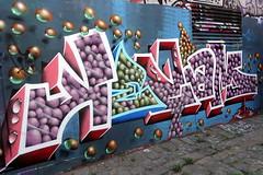 kezam (Luna Park) Tags: melbourne vic australia graffiti mural production kezam 3d drips lunapark