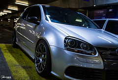 IMG_4324 (RevCheck Photography) Tags: car vehicle transport vw volkswagen r32 golf underground park light lighting shadow colour highlights reflection shine