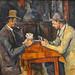 Les joueurs de cartes de P. Cézanne (Fondation Vuitton, Paris)