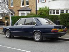1983 BMW 518 (Neil's classics) Tags: vehicle 1983 bmw 518 e28 car