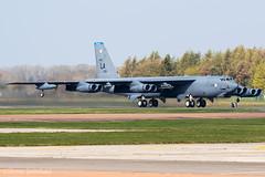 Boeing B-52H Stratofortress 61-0013/LA US Air Force RAF Fairford 28/03/19 (Shaun Schofield) Tags: buff b52h bomber stratofortress usaf raf fairford aircraft jet
