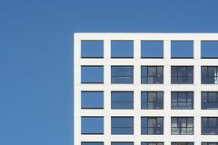 Geometric facade (Jan van der Wolf) Tags: map185139v architecture architectuur gevel facade gebouw geometric geometry geometrisch geometrie lines lijnen lijnenspel interplayoflines playoflines delft tu windows open closed ramen