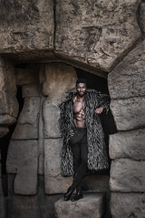 11/52- Henry (*KIKITA*) Tags: greaterlosangeles griffithpark losangeles losangelesportraitphotograph southbayphotographer erickagiulianiphotography fashion model nikond750 outdoorportrait portraitphotographer losangelesportraitphotographer malemodel african fauxfur cave