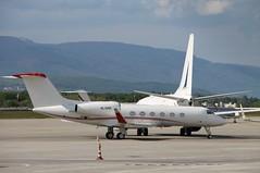 4L-GAF Gulfstream G450 (Ray's Photo Collection) Tags: geneva bizjet 4lgaf geneve gva airport flughafen plane aircraft airliner aviation jet gulfstream g450