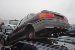 Audi 80 B3 1.6 1-2-1990 YB-95-TN (Fuego 81) Tags: audi 80 b3 1990 yb95tn onk sidecode4 scrap scrapyard junkyard autodemontage autosloop sloperij autosloperij arn recycling schroot epave autoverwertung schrott autowrak wrak car wreck abwrack demars zwolle nl netherlands 2019