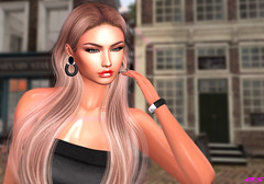 Where Should I Go? (alexandra sunny) Tags: ohemo almamakeup madamenoir catwa maitreya sintiklia woman secondlfe fashion blog blogger dreams portrait eyes lips gloss jewelry earring bangle vanityevent xxxoriginalevent hellotuesdays