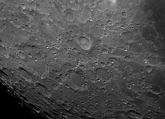 Moon (Alex) : Tycho and Clavius (2/2) (Club Astro PSA) Tags: astro astronomy astronomie astrophoto astrophotography moon lune sky ciel night nuit cratere telescope telescop lens photo copernicus resolution topaz sharpen stabilize detail detailed zoom stacking video film wavelet stacked stack celestron c8 tycho clavius