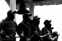 Milicianos del EZLN en visita de Marichuy a Guadalupe Tepeyac (Dal_air) Tags: ezln militares milicianos ejercito zapatista de liberación nacional