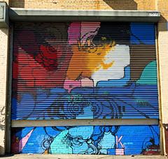 Speak Your Mind by Mr Mustart (wiredforlego) Tags: graffiti mural streetart urbanart aerosolart publicart shutter williamsburg brooklyn newyork nyc ny mrmustart