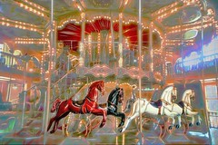 Merry Go Round (Rusty Russ) Tags: merry go round flying horses up down color light fun slide colorful day digital window flickr country bright happy colour eos scenic america world sunset beach water sky red nature blue white tree green art sun cloud park landscape summer city yellow people old new photoshop google bing yahoo stumbleupon getty national geographic creative composite manipulation hue pinterest blog twitter comons wiki pixel artistic topaz filter on1 sunshine image reddit tinder russ seidel facebook