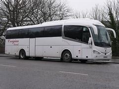 Creigiau Travel of Cardiff Scania K360IB4 Irizar i6 YN66VSN at Regent Road, Edinburgh, on 5 February 2019. (Robin Dickson 1) Tags: busesedinburgh scaniak360ib4 irizari6 creigiautravel visiontravelofwidnes huytoncoachesofwidnes