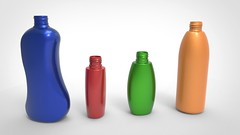 Bottles with different geometry. 3D scanned with the use of RangeVision Pro 2M. (Top3DShop) Tags: 3d top3dshop 3dmodelling 3dscan 3dmodel 3debottles rangevision 3dscanner rangevisionpro2m greybackground models stock 3dexport cg textures free bottle 3dbottle food beverage render 3dobject digitalart digital3d 3dart