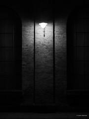 Street mood (Csaba Vásárhelyi) Tags: hungary budapest magyarország bw olympus omdem10mk2 omd street utca lamp lámpa light fény texture textúra