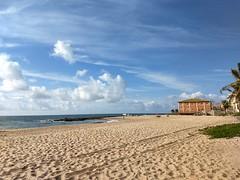 Arembepe (marciaaki05) Tags: nwn sea clouds sky stone beach