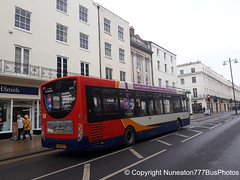 SN63KFY 36942 Stagecoach Midlands (Warwickshire) in Leamington Spa (Nuneaton777 Bus Photos) Tags: stagecoach midlands adl enviro 200 sn63kfy 36942 leamingtonspa