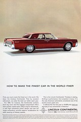 1963 Lincoln Continental By Ford USA Original Magazine Advertisement (Darren Marlow) Tags: 1 3 6 9 19 63 1963 f ford l lincoln c continental car cool collectible collectors classic a automobile v vehicle u us s usa united states american america 60s