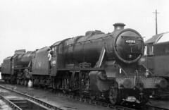 48395. (curly42) Tags: 48395 8f steam britishrailways 85b gloucesterhortonroad railway d1642 class47
