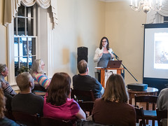 Jamie Kuhns presents Josian Henson at Woodlawn Manor Feb. 2019. (Montgomery Parks, MNCPPC) Tags: author book culturalpark historian history jamiekuhns josiahhenson lecture manor maryland mncppc montgomerycounty montgomeryparks park presentation woodlawn